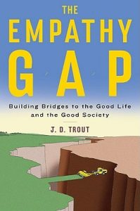 cover of the book the empathy gap