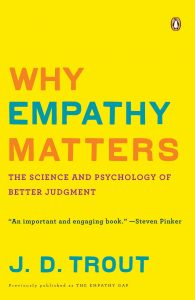 """Book cover of """"Why Empathy Matters"""""""